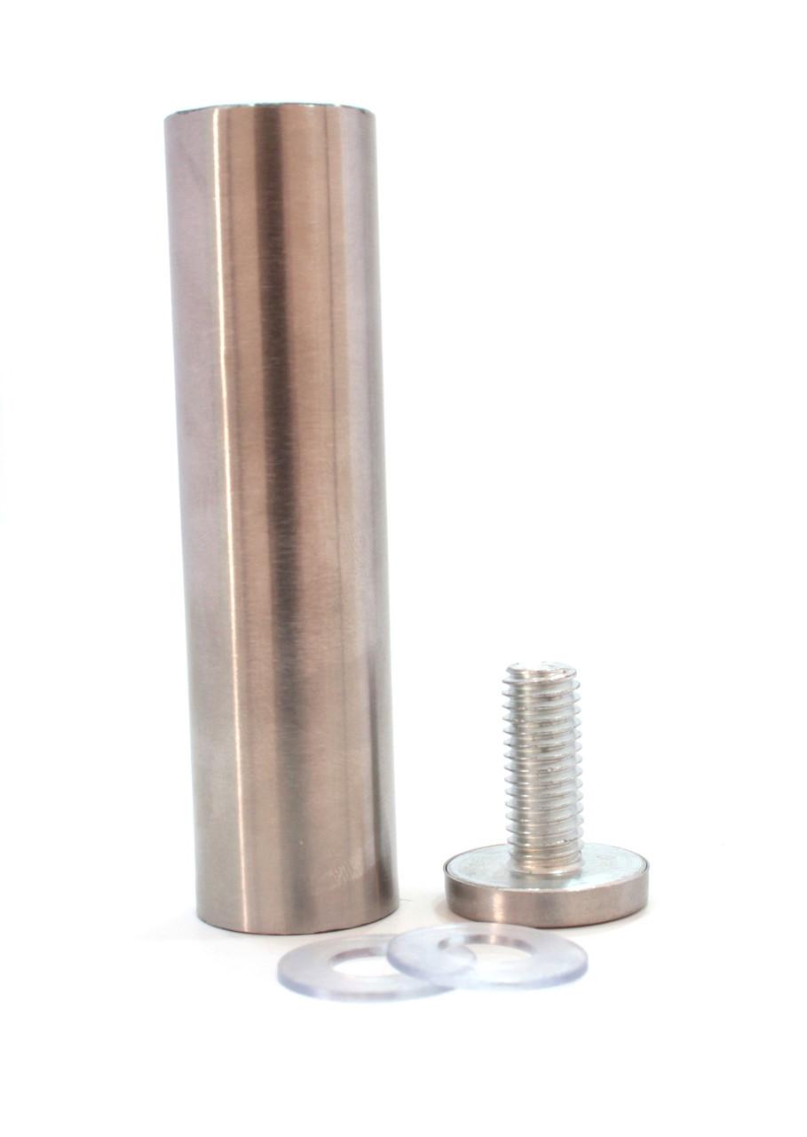 Дистанционный держатель 25х100 мм МАТОВЫЙ