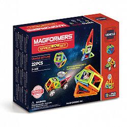 Magformers Магнитный конструктор Набор Space Wow Set из 22 деталей
