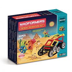 Magformers Магнитный конструктор Набор Adventure Desert Set из 32 элементов
