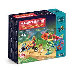 Magformers Магнитный конструктор Набор Adventure Mountain Set из 32 элементов