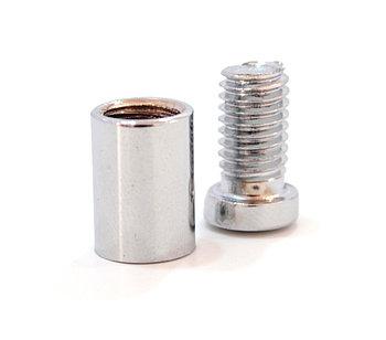 Металлический дистанционный держатель 10х20 мм