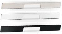 Мебельная ручка  , алюминий, 350 мм, цвет черный