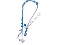 Душирующее устройство крепление к мойке с краном