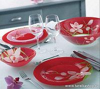 Red Orchis сервиз столовый 19 пр.