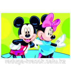 """Картинки по номерам - """"Микки и Мини-2"""""""