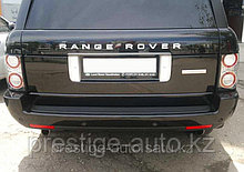 Задний бампер на Range Rover Vogue
