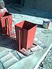 Урна уличная, металлическая, фото 4