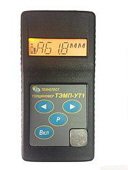Толщиномер ТЭМП-УТ1 (в пластмассовом корпусе) с одним ПЭП