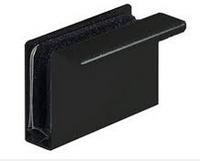 Деталь-ручка для стеклянной двери черная