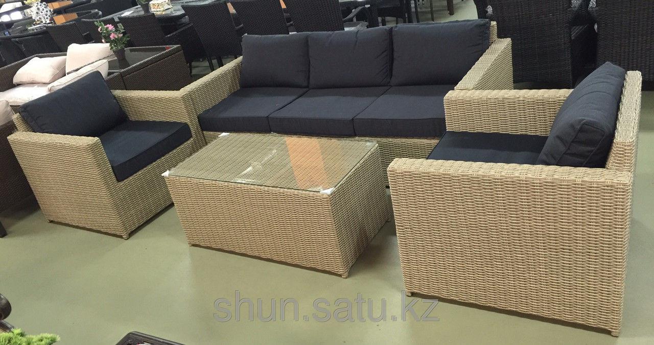 Комплект мебели из искусственного ротанга