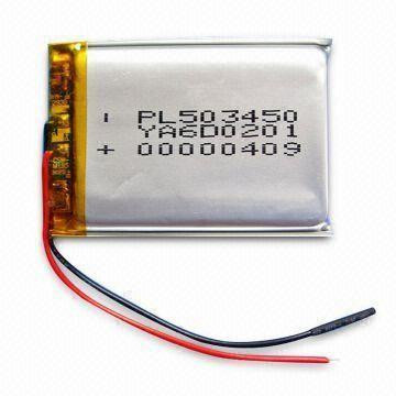 Аккумулятop 3,7v 1100mAh PL503450 5x34x50mm для MP3/4/5,GPS