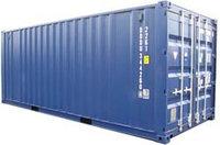 Перевозка 20ft груженного, в собственном контейнере