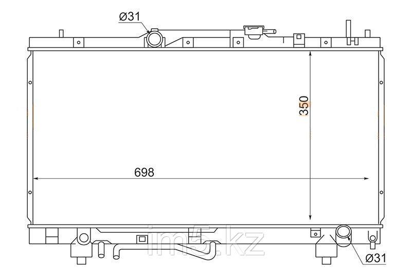 Радиатор TOYOTA CALDINA #T21# 97-02