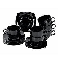 Чайный сервиз Luminarc Quadrato black
