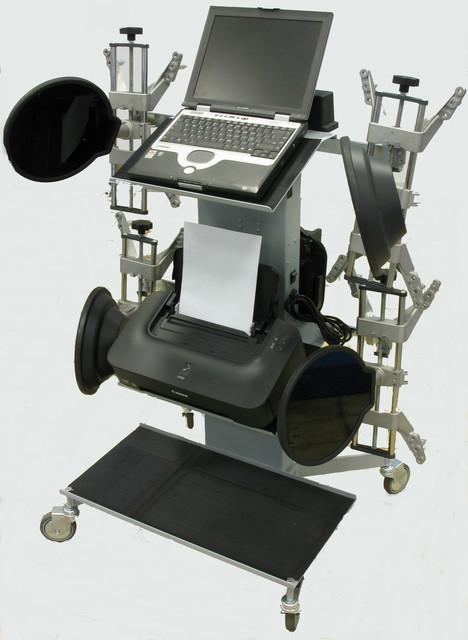 Стенды сход развал технология 3D