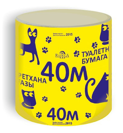 БУМАГА туалетная 40 МЕТРОВ, фото 2