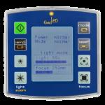 Встроенный пульт управления основными параметрами блоков освещения
