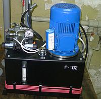 Гидростанция СР50 в герметичном боксе с блоком управления