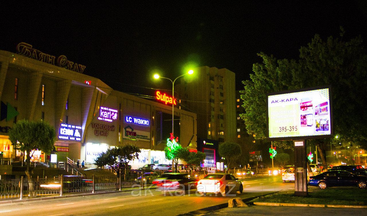 Реклама на ситибордах (скроллерах) в Шымкенте