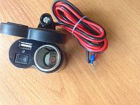 USB зарядка и прикуриватель