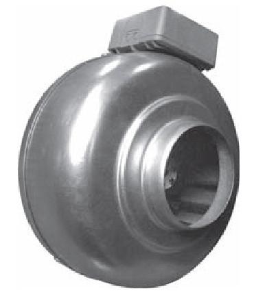Вентиляторы канальные круглые ВКК ЕС (энергоэффективные)