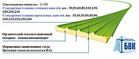 Стеновые сэндвич панели PIR (пенополиизоцианурат) 50