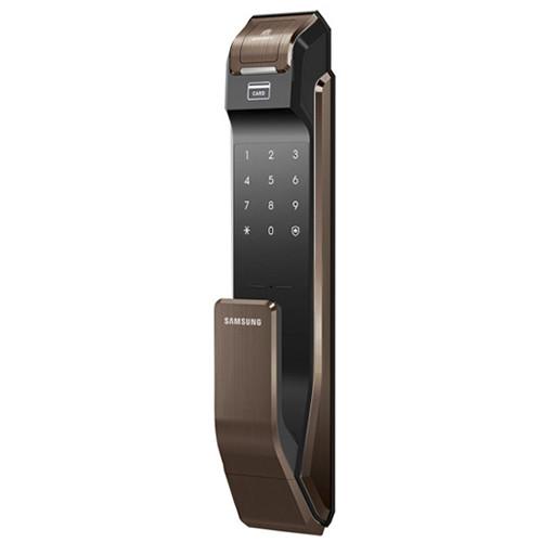 Электронный биометрический дверной замок Samsung SHS-P718 XBU Brown