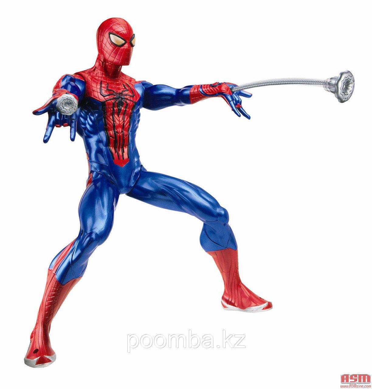 SPIDER-MAN. Фигурка, стреляющая паутиной