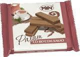 Вафли со вкусом какао