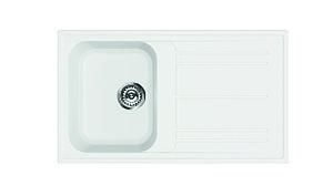 Мойка кухонная белая SMEG LZ861B