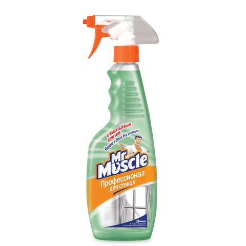 Средство для мытья стекол Мистер Мускул с распылителем