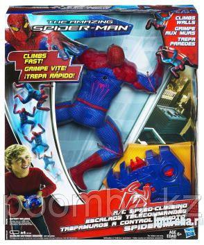 Человек-паук, SPIDER MAN. Фигурка, ползающая по стене