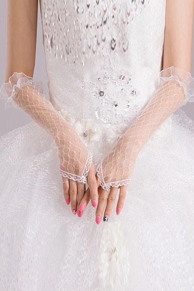 Перчатки мелкая сетка