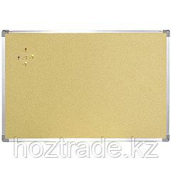 Доска пробковая 60*90 Berlingo, алюминиевая рамка