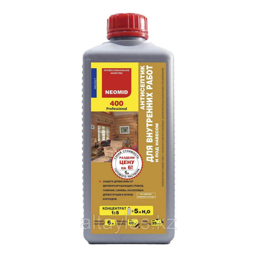 Антисептик для внутренних работ NEOMID 400 (1 литр)