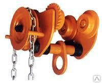 Механизм передвижения тали ручной (кошка) GCL  приводная 1 т 6 м