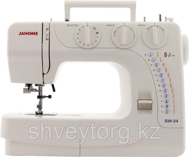 Бытовая швейная машина  Janome SW-24