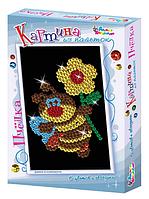Картина из пайеток «Пчелка», набор для творчества