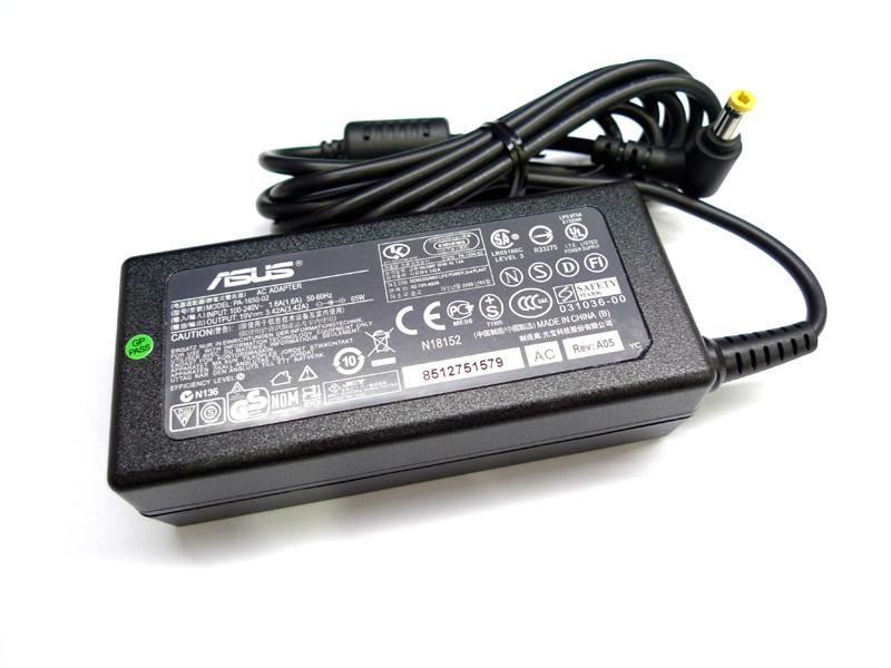 Зарядное устройство для ноутбука ASUS 19Вольт 3.42A 65Вт 5.5*2.5мм