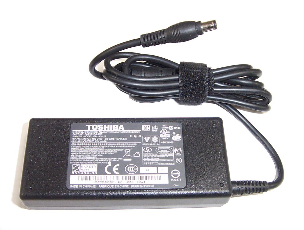 Блок питания для ноутбука TOSHIBA 15Вольт 6A 90Вт 6.3*3.0мм