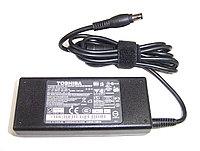 Блок питания для ноутбука TOSHIBA 15Вольт 6A 90Вт 6.3*3.0мм, фото 1
