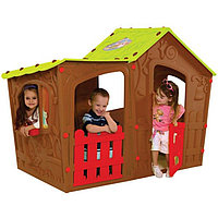 Детский игровой домик Мэджик коричневый Виллла