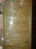 Дверь банная глухая из сосны (коробка сосна) 180*80