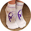 Носочки для гимнастики с рисунком