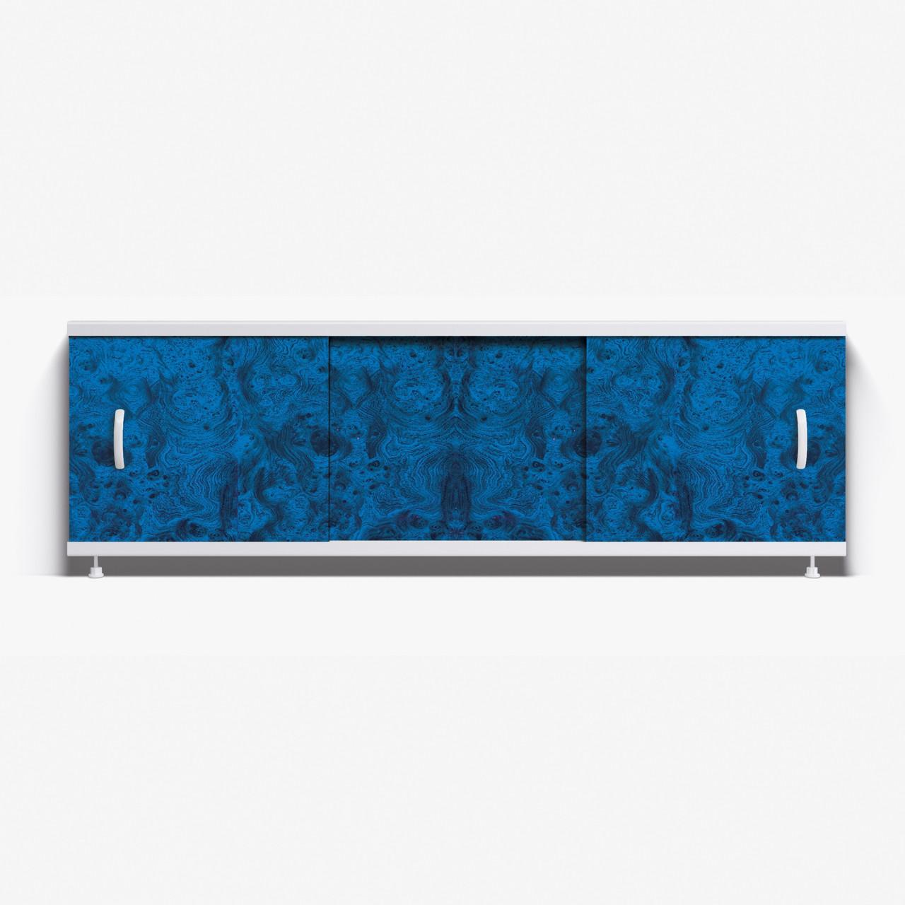 Панель для ванны Alavann Престиж 1.5 м  НП // 3Н-синий малахит