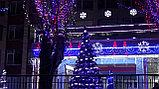 Новогоднее оформление зданий Астана, фото 5