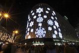Новогоднее оформление зданий Астана, фото 3