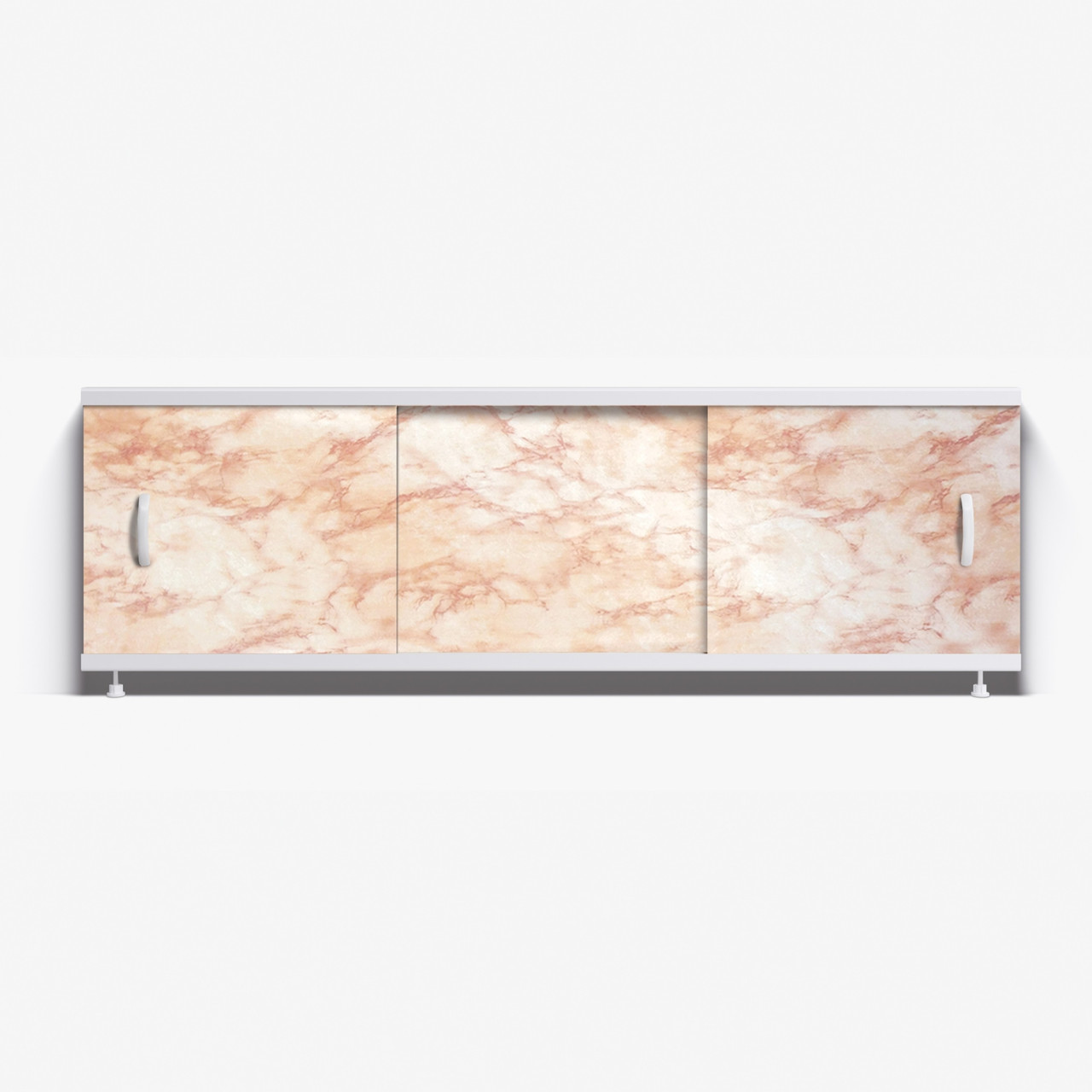 Панель для ванны Alavann Престиж 1.5 м   //  10 светло-коричневый мрамор