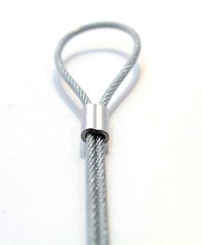 Фиксатор для троса (диаметр отверстий 1,5 мм)