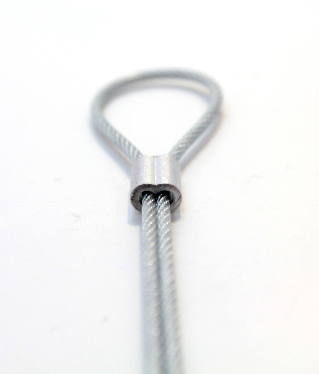Фиксатор для троса (диаметр отверстий 2 мм)